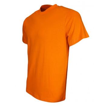 O Yaka Kısa Kollu Turuncu T-Shirt