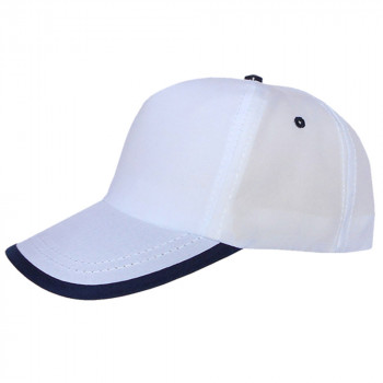 Biyeli Beyaz Promosyon Şapka