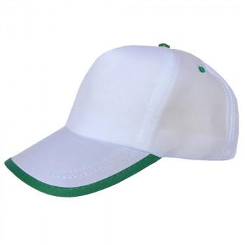 Biyeli Yeşil Promosyon Şapka