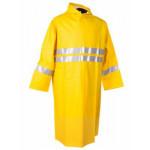 Sarı Çift Sıra Reflektörlü Yağmurluk