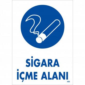 Sigara İçme Alanı Uyarı