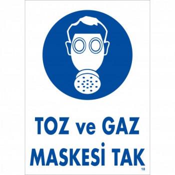 Toz ve Gaz Maskesi Tak