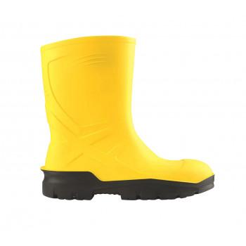 Pu-Boot Sarı Kısa Çizme