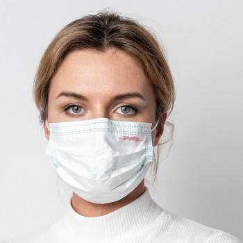 Firma Reklam Logo Baskılı Promosyon Ağız Yüz Maske