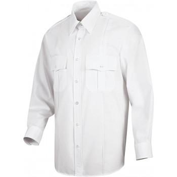 Beyaz Özel Güvenlik Gömleği
