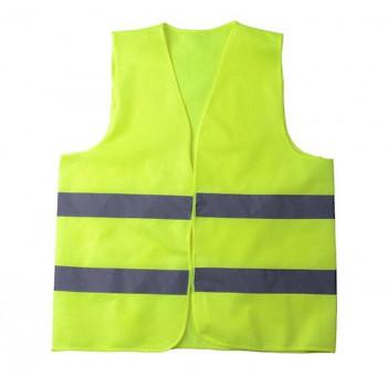 Fosforlu Yelek Yeşil İkaz Yeleği